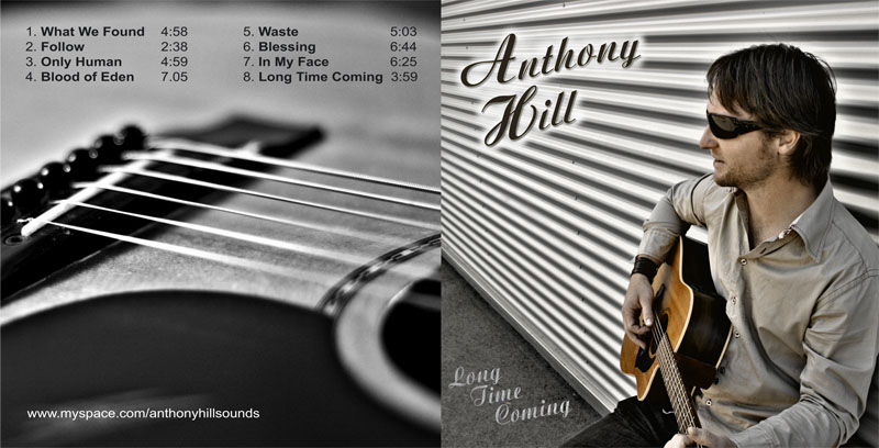 Anthony Hill - CD Layout